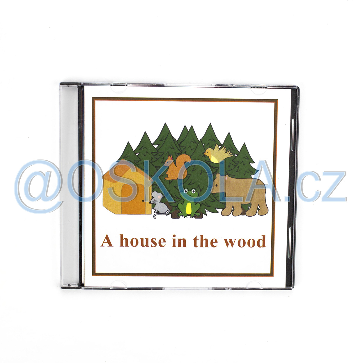 CD - A house in the wood (1 jazyk en)