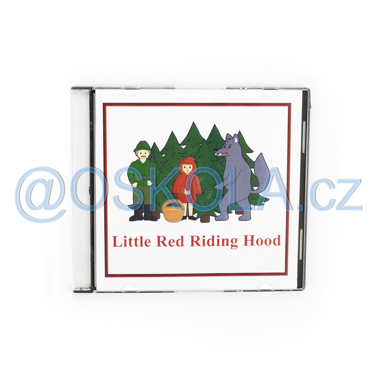 CD - Little Red Riding Hood (1 jazyk en)