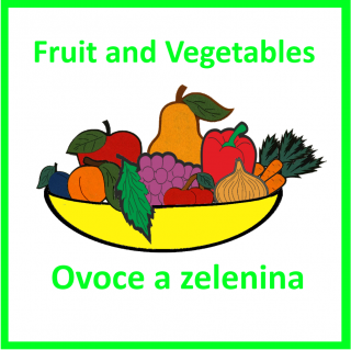 CD-Fruit and Vegetables (2 jazyky)
